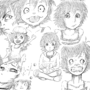 Masako Expressions (Sketch) by Chopsuey9444