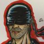 Daredevil (Man in Black) Drawing by SavageDraws