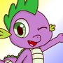 My little pony:Cute Spike by starisland