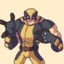 Pixel Wolverine by Miroko