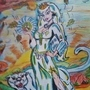Lady Winter with Chill cougar ICZEE strolling through Fall-halla by HoosierArtista