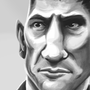 Jon Bernthal AKA The Punisher by Buckycarbon