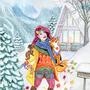 Joies d'hiver + Flamboyance by CamilleGirardAubin