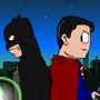 Batman Vee Superman by DeuxLab