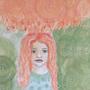 The Orange Cloud by PaulaHarris