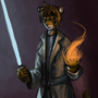 Jedi tiger (forum request-22) by Kiabugboy