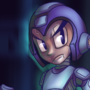 Mega Man by TopSpinThefuzzy