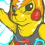 Pikachu Libre by Ferrohound