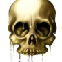 Golden Skull by LukeF