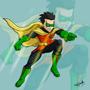 Damian (Robin) by 07raffaello