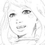 :Sketch: Uraraka Ochako by RadiBits