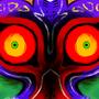 Majora's Mask by SeafoamPanda