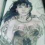 wonder women by artwithabraham