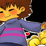 Frisk and Flowey by RiceKappa