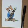 Art Amino Mascot Challenge. by HienKBull