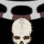 Klingon Skull & Bat'leth by HugoVN