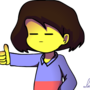 Frisk's Approves by LuisPichu232