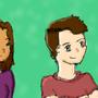 Stuck Together Podcast Fan Sketch by KozyCat