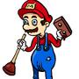 Mario Da Plumber by BrandonIsNear