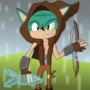 Robin The Hedgehog by sonicguy322