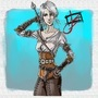 Ciri Animated/cartooned by tbcoop