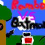 ROUND2: Fight! Rambo VS Batman by ScrewTheRules