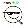 Happy 4/20 by DextremeArrow