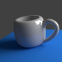 3D Cup by Mujtahid