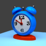 3D Clock by Mujtahid