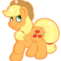 Applejack by HomemadeGalaxies
