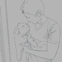 Man's Best Friend (WIP Sketch) by Arakcanum