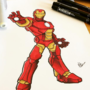 Iron Man by paperinvader