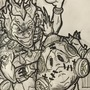 Junkrat and Roadhog drawing