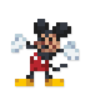 Day #23 - Mickey Mouse by JinnDEvil