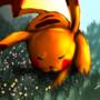 Pikachu Battle mode! by JUANCHIDRAWS