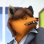 Foxy Secretary by Bludermaus