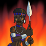 Gudit the Ethiopian Conqueror by BrandonP
