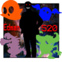Edman520 Logo (With words) by Banakour
