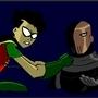 Robin Vs Slade by CarryOn