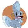 Mudkip by LinkNiak