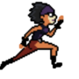 Burglar Tiffany Running by OareasO