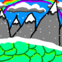 Happy Mountain by E-Gamer