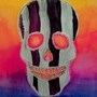Striped Skull by Shinigami77