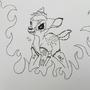 Death Metal Bambi by Shinigami77
