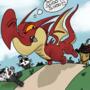 Dragon Vs. Kittens by codenamepicklez