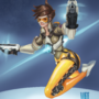 Tracer From Overwatch Speedpainting by MartsArt