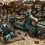 Dystopian Zootopia by DrugFueledAnimals