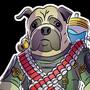 Captain pug by SemiCubic