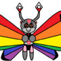 Vivillon Pride Pattern by Pixel-Cheese-Cake