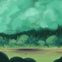 """Background painting for AlecArts """"Magic Cat"""" by EthanBurnsides"""